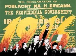 A poster celebrating the Rising of 1916.