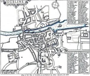 Dublin in 1610.