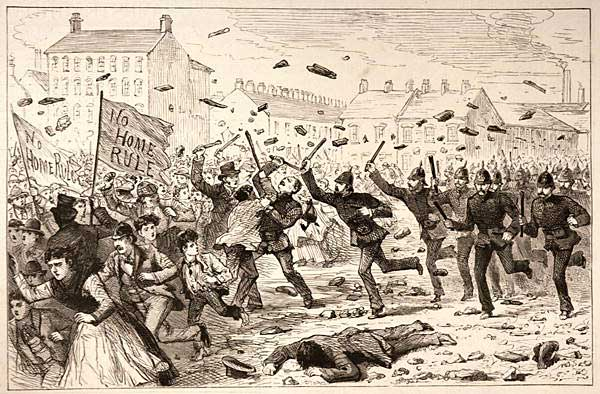 The 1886 riots in Belfast