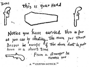 coffin notice mollys