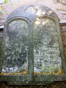 Headstone at Edward nangle's grave in Deansgrange Cemetery, Dublin. Photo by P Byrne.