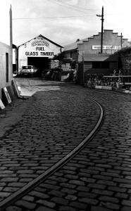 Dalkey tram yard c.1900