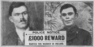 An RIC Wanted poster for Dan Breen, c.1919