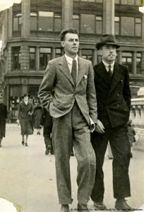 George Lennon with fellow IRA veteran Roger McCorley in 1939. ( Courtesy of the Irish Volunteers Website)