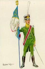 The colour bearer of the Legion.