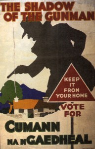 A Cumman na nGaedheal poster from the election of 1923.