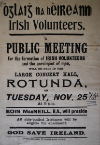 The Irish Volunteers were founded in November 1913 to ensure the passage of Home Rule.