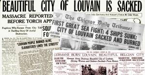 Newspaper sack of Leuven