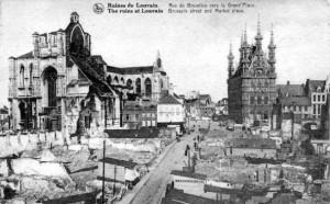 The ruins of Leuven.