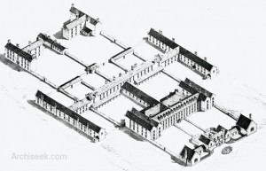 Limerick Workhouse in 1841.