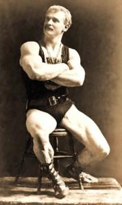 Eugene Sandow.