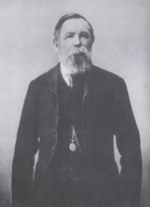 Engels in later life.
