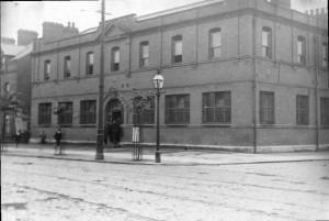 RIC Barracks Springifield Road.