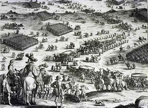 Spanish tercios at the Siege of Breda 1642.