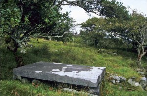 Eliza Nangle's burial place at Dugort