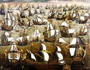 The Spanish Armada.