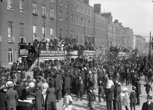 Part of the O'Donovan Rossa funeral procession.