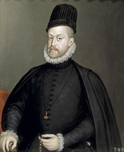 Phillip II of Spain.