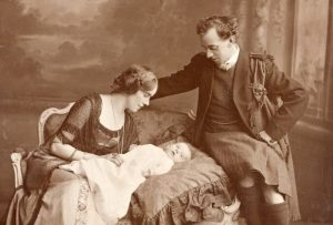 Thomas and Muriel and their baby, Barbara.