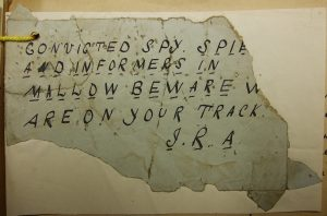 McPhearson Spy Label