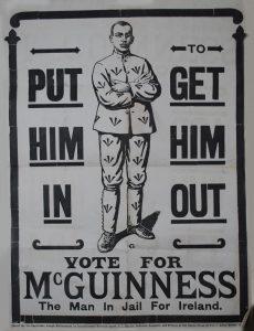 Sinn Fein poster 1918. Source Capuchin Archives.